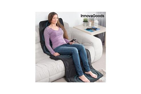 Innovagoods Tapis de massage corpoerl relax cloud innovagoods 14w noir