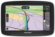Tomtom Tomtom via 52 car sat nav 5 pouces avec appels mains libres, le trafic à vie via smartphone et l'ue cartes, écran résistifs