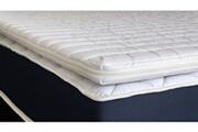 Hbedding Sur-matelas déhoussable 140x190 confort plus hbedding - mousse polyuréthane