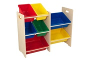 KIDKRAFT Etagère de rangement 7 casiers storage