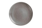 Luminarc Assiette creuse ronde en verre gris - d 20 cm - lot de 6 stonemania grey