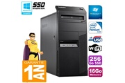 Lenovo Pc tour lenovo thinkcentre m83 intel g3250 16go 256go ssd graveur dvd wifi win 7