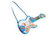 HOMCOM Guitare enfant instrument de musique 3 en 1 guitare, piano, batterie + effets lumineux