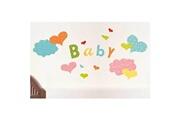 Nouvelles Images Sticker mural enfant 49x69cm ludique