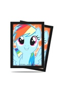 Xbite Ltd Ultra pro my little pony rainbow dash 65 deck protector sleeves 10 packs