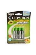 Lloytron Lloytron b015 rechargeable accudigital aaa ni-mh batteries 900mah 4 pack