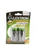 Lloytron Rechargeable c ni-mh batteries 3000mah 2 pack