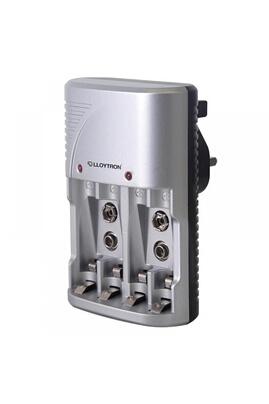 Lloytron Lloytron b1502 compact battery charger for aa/aaa & pp9 uk plug