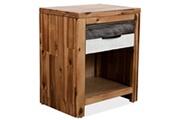 Vidaxl Table de chevet 40 x 30 x 48 cm bois d'acacia massif