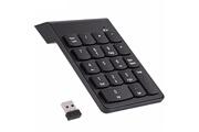Shot Case Pave numerique sans fil pour acer pc clavier usb chiffres 18 touches pile (noir)