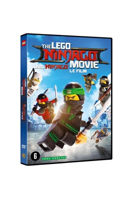 WARNER BROS Dvd lego ninjago le film
