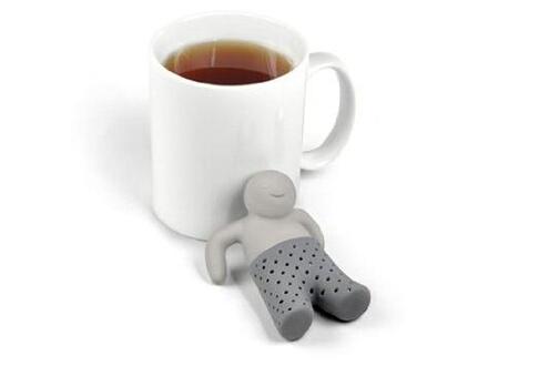 Dulce Casa Boule à thé en silicone en forme de bonhomme - mr tea