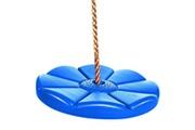Ancheer Ensemble de balançoire rond avec chaine bleu