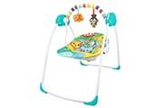 Todeco Balancelle pour bébé, transat pour bébé, modèle animaux du monde, dimensions: 80 x 76 x 54 cm