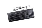 Hp Clavier pc azerty noir usb hp ku-1156 672647-053 724720-051 105 touches keyboard