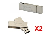 Kingston 2x qumox clé usb 8go usb 2.0 qumox