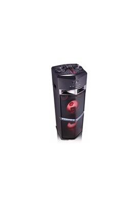 Lg Lg oj98 chaine high power - bluetooth multi pairing - design lumineux - fonction dj + karaoke - 1800 w - noir