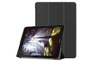 Alsatek Acer chromebook tab 10 housse etui cuir pu horizontal noir als89410