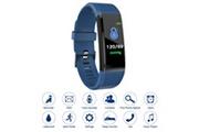 Xcsource Xcsource 115plus fitness tracker smart bracelet bluetooth couleur affichage sport montre cardiaque / moniteur de pression artérielle podomètre étape compteur calories bleu ac1422