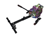 Air Rise Hoverkart graffiti violet universel compatible avec tout type d'hoverboard