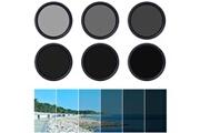 Xcsource Xcsource® 58mm filtre fader nd à densité neutre variable et réglable nd2 nd4 nd16 jusqu'à nd400 avec un boîtier lf304
