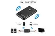 Xcsource Xcsource 2in1 bluetooth v4.2 transmetteur récepteur longue distance sans fil hifi adaptateur toslink / spdif 3.5mm jack aptx pour système audio stéréo à domicile ma1538