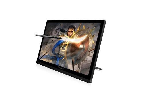 Huion Tablette graphique avec écran-kamvas gt-191-une pression du stylo à 8192 niveaux 19.5 pouces