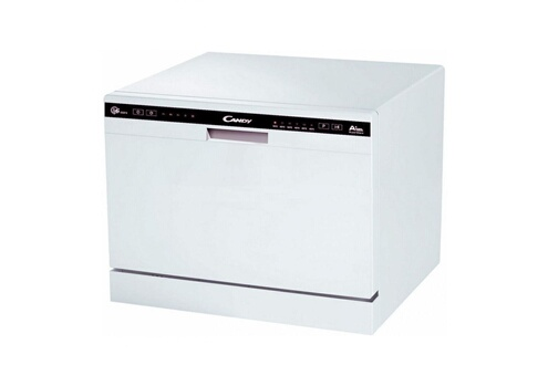 Candy Mini lave-vaisselle posable blanc 49db a+ 6 couverts 55cm super compact cdcp6/e