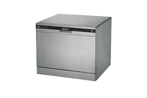 Candy Mini lave-vaisselle posable inox 49db a+ 6 couverts 55cm super compact cdcp6/e-s