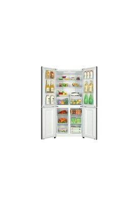 Haier HAIER HTF-456DM6 - Refrigerateur multi-portes - 456L 316+140 - Froid  ventile - A+ - L 83cm x H 180cm - Inox