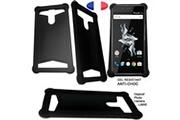 Ceka Tech Coque silicone gel hp elite x3 - couleur noir - cekatech® universelle protection de qualité