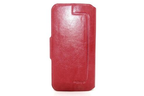 Ceka Tech Housse etui coque double fenêtres hp elite x3 - couleur rouge - cekatech® universelle protection de qualité