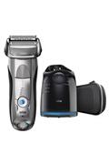 Braun Braun series 7 7898cc wet & dry homme rasoir électrique (sans cartouches de recharge et de nettoyage) - argent
