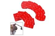 Xcsource Xcsource® kit 12 pcs accessoires pour casque fixation plate incurvée adhésif pour gopro hero 1 2 3 3+ 4 os85
