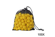 Xcsource Xcsource 100 pcs recharge bullet ball pack rond souple jaune eva ammo remplacement pour nerf rival apollo zeus blaster kid toy gun th829