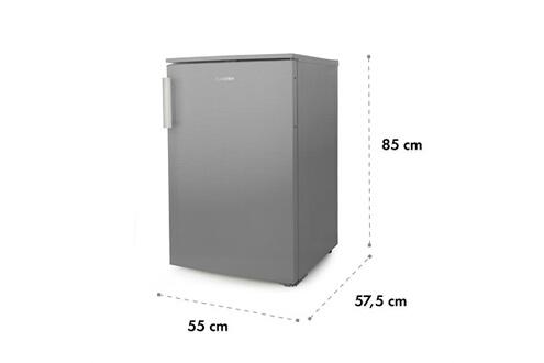 KLARSTEIN Garfield XL Eco+ Congélateur compact 80 litres - 3 compartiments - 41dB - Classe A+++ - Argent