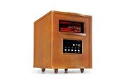 KLARSTEIN Heatbox Radiateur électrique infrarouge mobile - chauffage d´appoint 1500W - minuterie 12 h - chêne