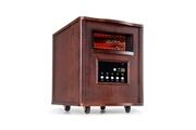 KLARSTEIN Heatbox Radiateur électrique infrarouge mobile - chauffage d´appoint 1500W - minuterie 12 h - bois