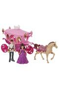 Be Toy's Poupée princesse avec son carrosse - rose