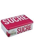 Bw Boîte à sucre en morceaux relief - métal