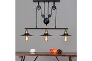 Kosilum Lampe industrielle suspension - triple piattino