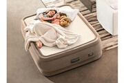 Intex Matelas gonflable intex premaire thermalux 2 places
