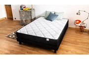 Hbedding Ensemble matelas mémoire + sommier 160x200 extra memo hbedding - mousse visco et mousse confort