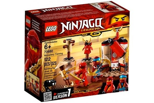 Lego Lego 70680 ninjago - l'entraînement au monastère