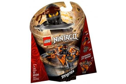 Lego Lego 70662 ninjago - toupies spinjitzu cole