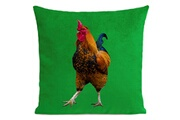 Artpilo Coussin french rooster velours - 40 x 40 cm