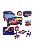 Fun House Cars pack chambre complete enfant - 8 elements