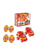 MONDO Cars rollers réglables et protections (taille 22 a 29) (patins + genouilleres + coudieres) - disney