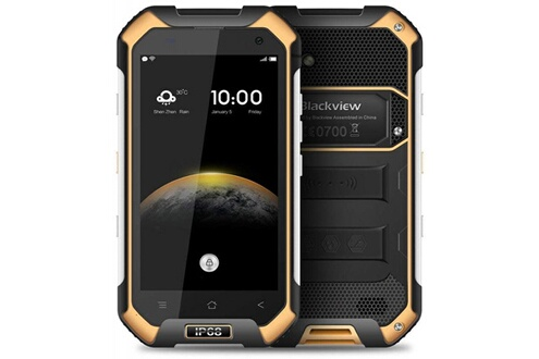 Blackview Blackview bv6000 - double sim - 32 go, 3go ram - jaune