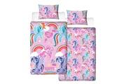 My Little Pony My little pony housse de couette - 100% microfibre - 1-personne (135x200 cm + 1 taie) - 1 pièce (74x48 cm) - multicolore